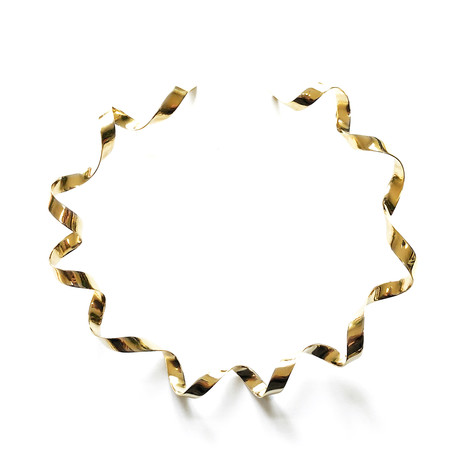 Liston Necklace // 22K Gold Plated