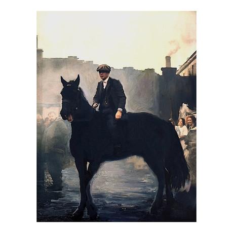 """The Dark Horse (15""""W x 20""""H)"""