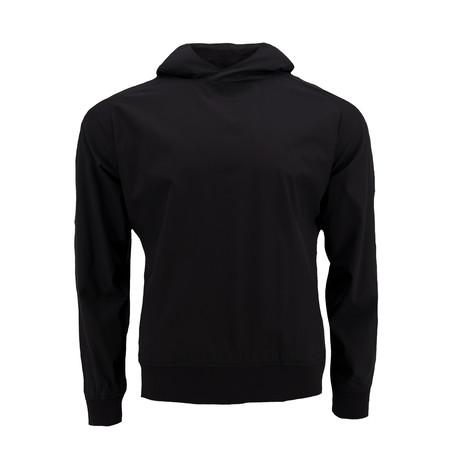 Side-Zip Hoodie // Black (S)
