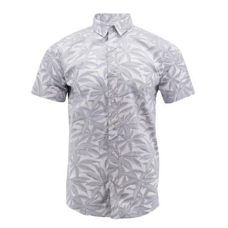 Reverse Palm Short-Sleeve Shirt // White (S)