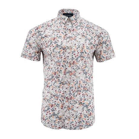 Wildflowers Short-Sleeve Shirt // White (S)