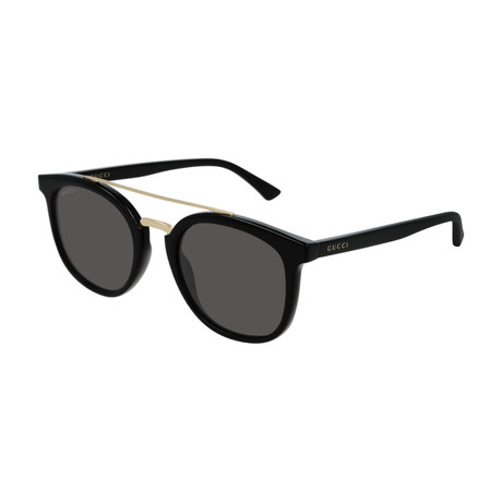 Men's GG0403S-001 Sunglasses // Black + Gray
