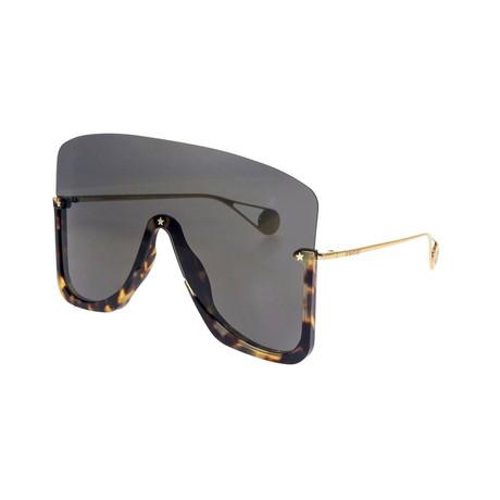 Men's GG0540S-002 Sunglasses // Tortoise + Gray