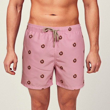 Donut Swim Short // Pink (S)