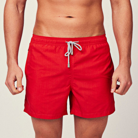 Classic Swim Short // Red (S)