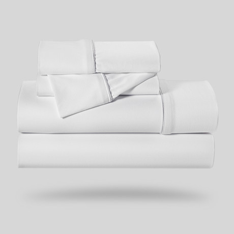 Dri-Tec® Sheet Set // White (Twin)