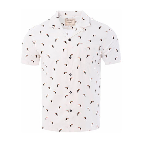 Toucan Shirt // White (S)