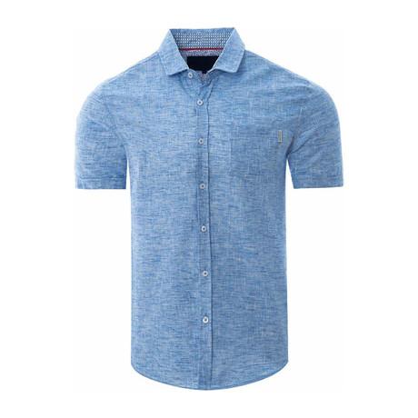 Pastel Shirt // Aqua (S)