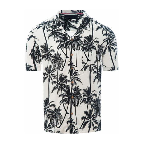 Palm Trees Shirt // White (S)
