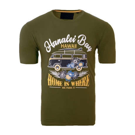 Hanalei Bay Shirt // Olive (S)