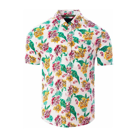 Tropical Shirt // White (S)