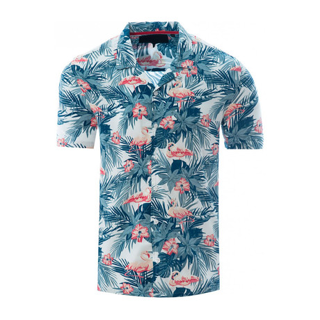Flamingo Shirt // White (S)