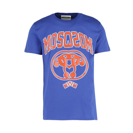 Men's Mirror Logo T- Shirt // Blue (Euro: 44)