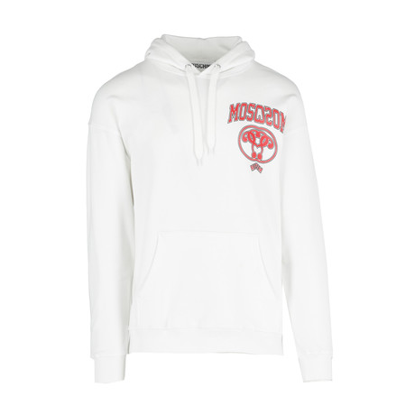Men's Hooded Sweatshirt + Logo // White (Euro: 44)