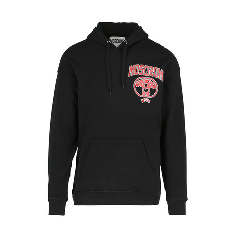 Men's Hooded Sweatshirt + Logo // Black (Euro: 44)