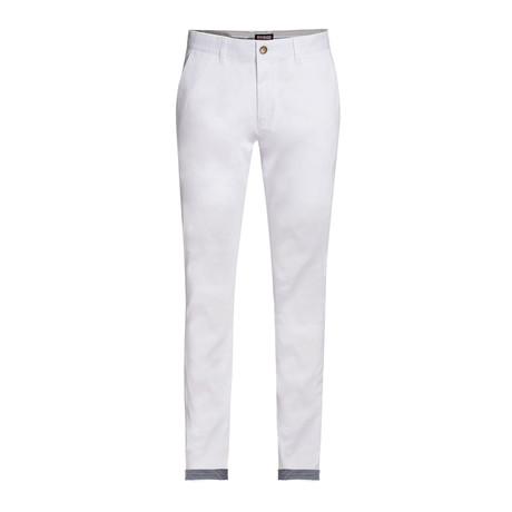 Cotton Stretch Chino // White (30WX30L)