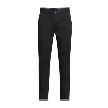 Cotton Stretch Chino II // Black (28WX30L)