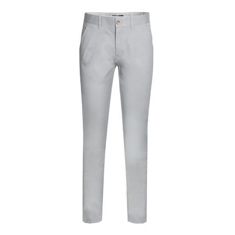 Cotton Stretch Chino // Gray (30WX30L)