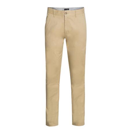 Cotton Stretch Chino // Khaki (30WX30L)