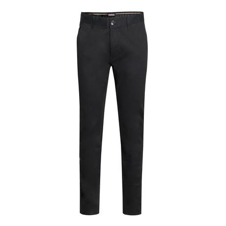 Cotton Stretch Chino // Black (28WX30L)
