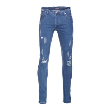 Skinny Jeans // Wash Blue (28WX30L)