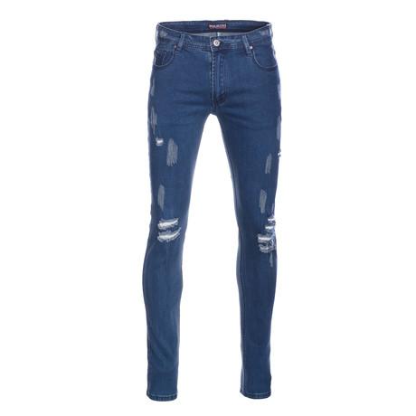 Skinny Jeans // Dark Wash (28WX30L)