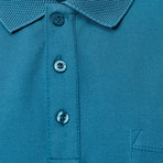 Glacier Polo // Aviator Blue (XL)
