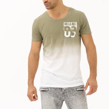 Miami Zero3 T-Shirt // Khaki (S)