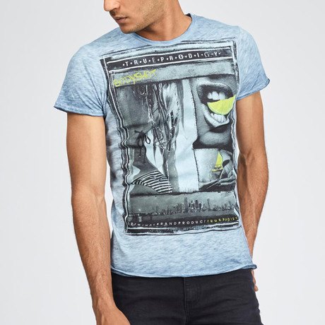 Bodyshot T-Shirt // Blue (S)