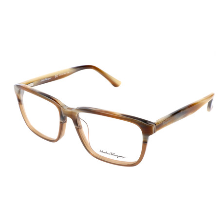 Men's Lukas Optical Frames // Brown Horn + Cognac