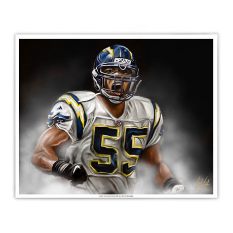 "Junior Seau ""Tasmanina Devil"""