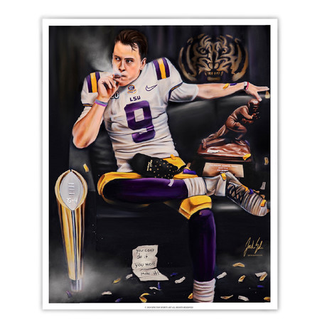 "Joe Burrow ""Burreaux"""