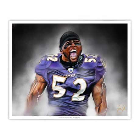 "Ray Lewis ""Gridiron Legend"""