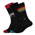 Socks that Fight for Equality // Multicolor (Small)