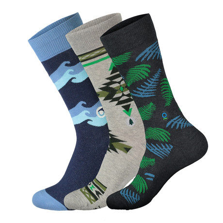 Socks that Protect the Planet // Multicolor
