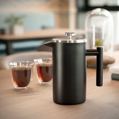 Press Double-Wall Insulated French Press // Black (11.8oz)