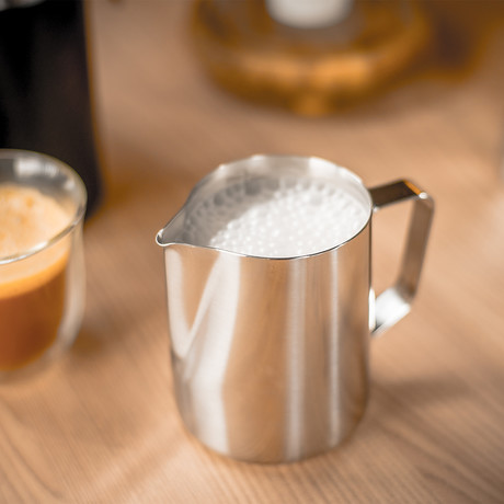Flask Precision Frothing Pitcher (11.8oz)