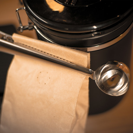 Spade Coffee Scoop With Smart Clip // Set of 3