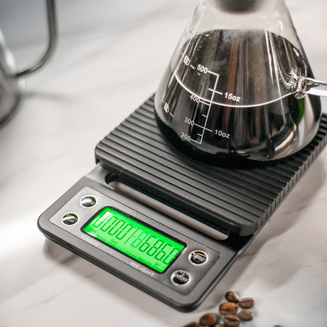 Ratio Coffee Scale With Timer // Black
