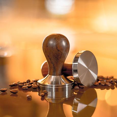 Clutch Premium Espresso Tamper // Walnut (Small)