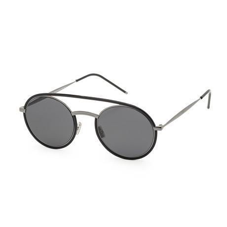 Men's Synte 1S-0V81-510H Sunglasses // Dark Ruthenium + Black