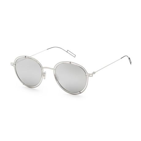 Men's 02OS Sunglasses // Palladium + Silver Mirror