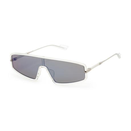 Men's Mercures 0900-99KU Sunglasses // Crystal + Gray Silver