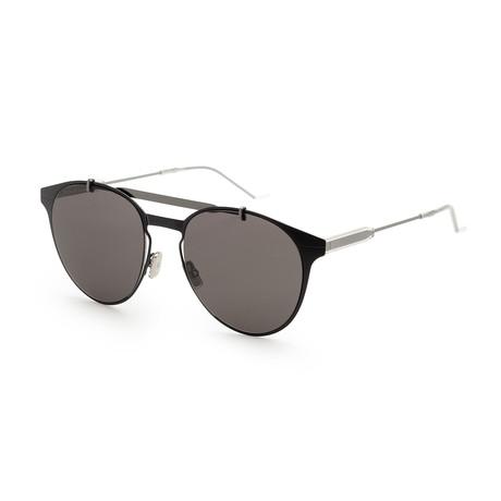 Men's Motion 1S-0807-53QT Sunglasses // Black + Gray Blue