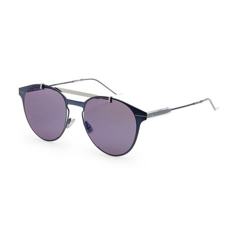 Men's Motion 1S-0PJP-53RG Sunglasses // Blue + Blue Sky Mirror