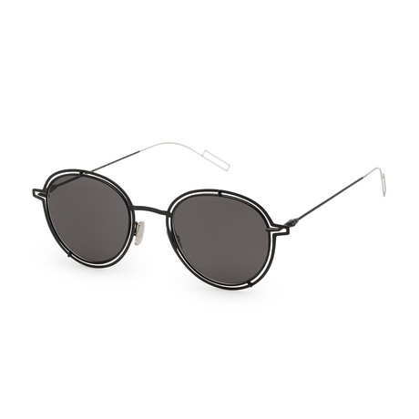Men's 0210S Sunglasses // Blue + Gray