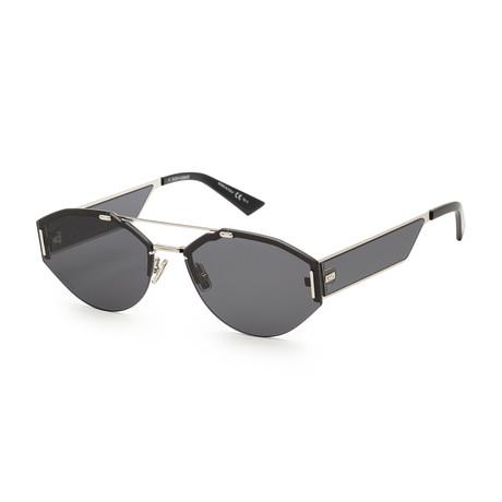 Men's 0233S-0010-62A9 Sunglasses // Palladium + Gray Silver