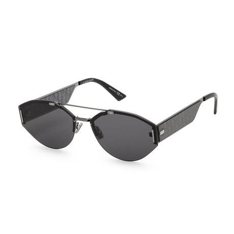 Men's 0233S-0XP1-620T Sunglasses // Black + Gray