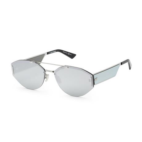 Men's 0233S-0010-62SQ Sunglasses // Palladium + Gray Silver