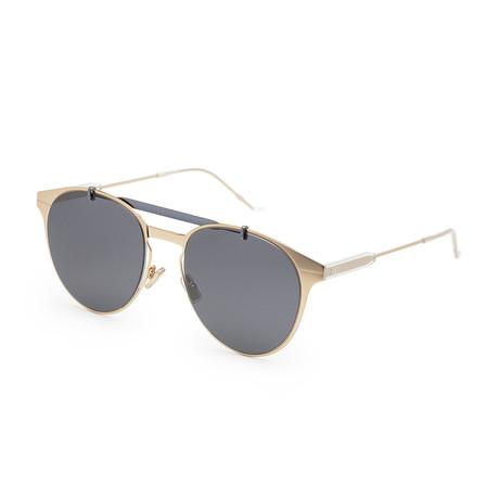 Men's Motion 1S-0J5G-53TE Sunglasses // Gold + Gray Blue